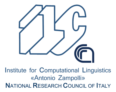 "Institute of computational linguistics ""Antonio Zampolli"" logo"