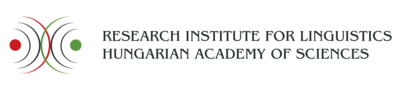 Research Institute for Linguistics of the Hungarian Academy of Sciences logo